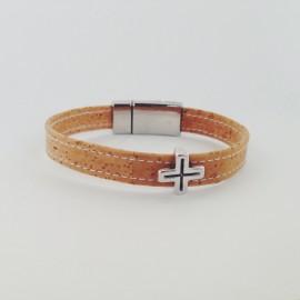 Korkarmband – Cross