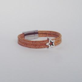 Korkarmband – My Star